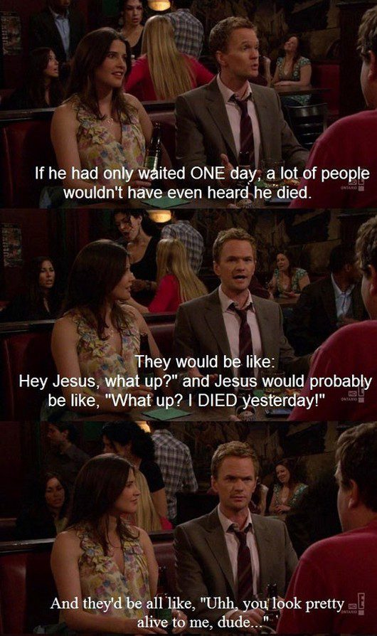 barney stinson online dating So it turns out that barney stinson is not just a genius according to the peculiar logic of the how i met your mother universe he's also a genius according to science.