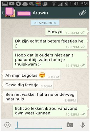 Flirten via whatsapp mannen