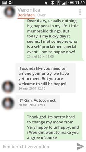 Flirten via whatsapp voor mannen