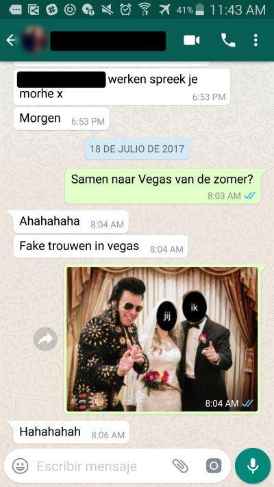 Flirten over whatsapp