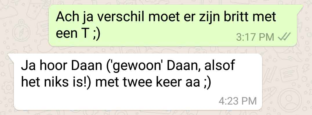 Hoe flirten via whatsapp